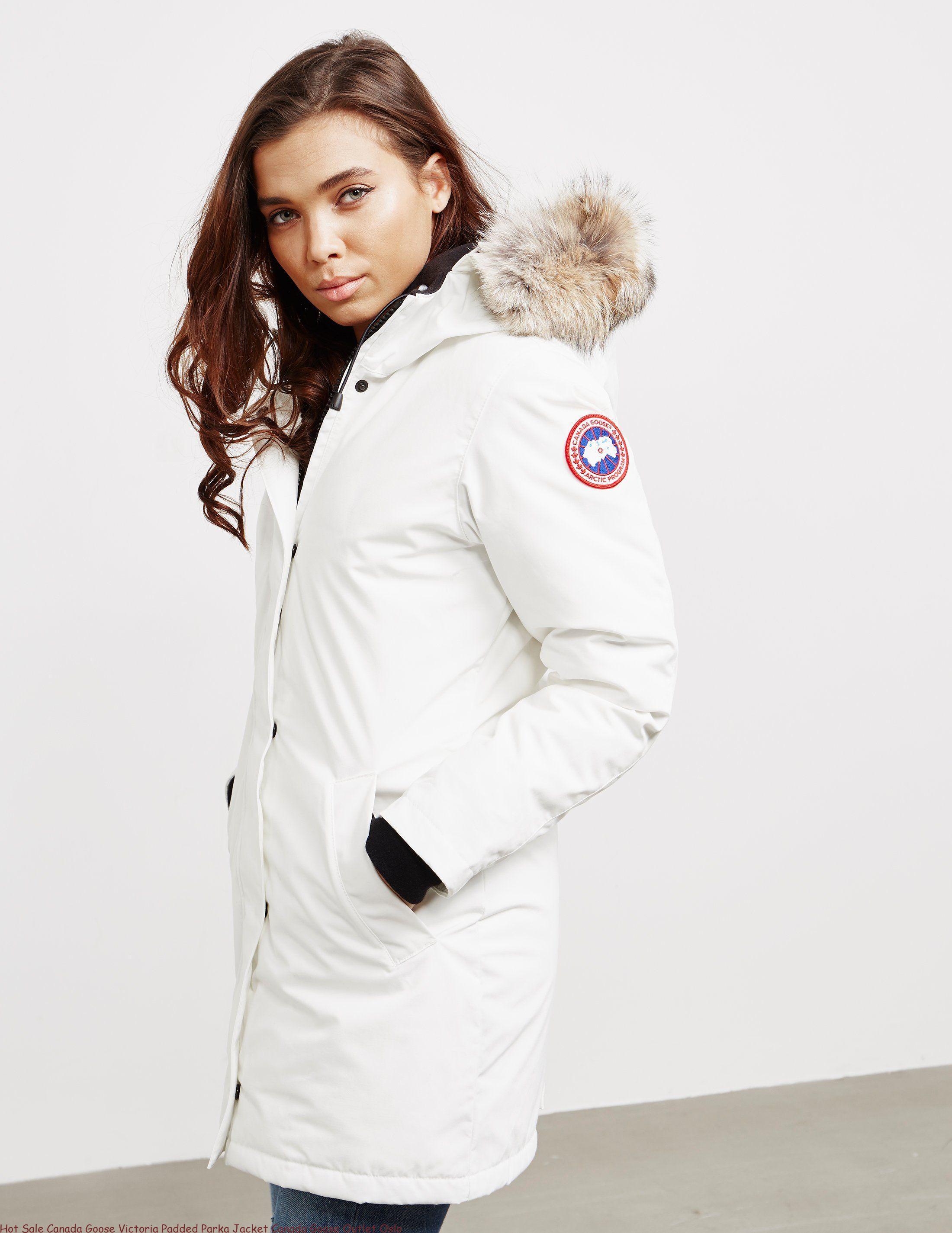 3ae50ee508970e Hot Sale Canada Goose Victoria Padded Parka Jacket Canada Goose Outlet Oslo