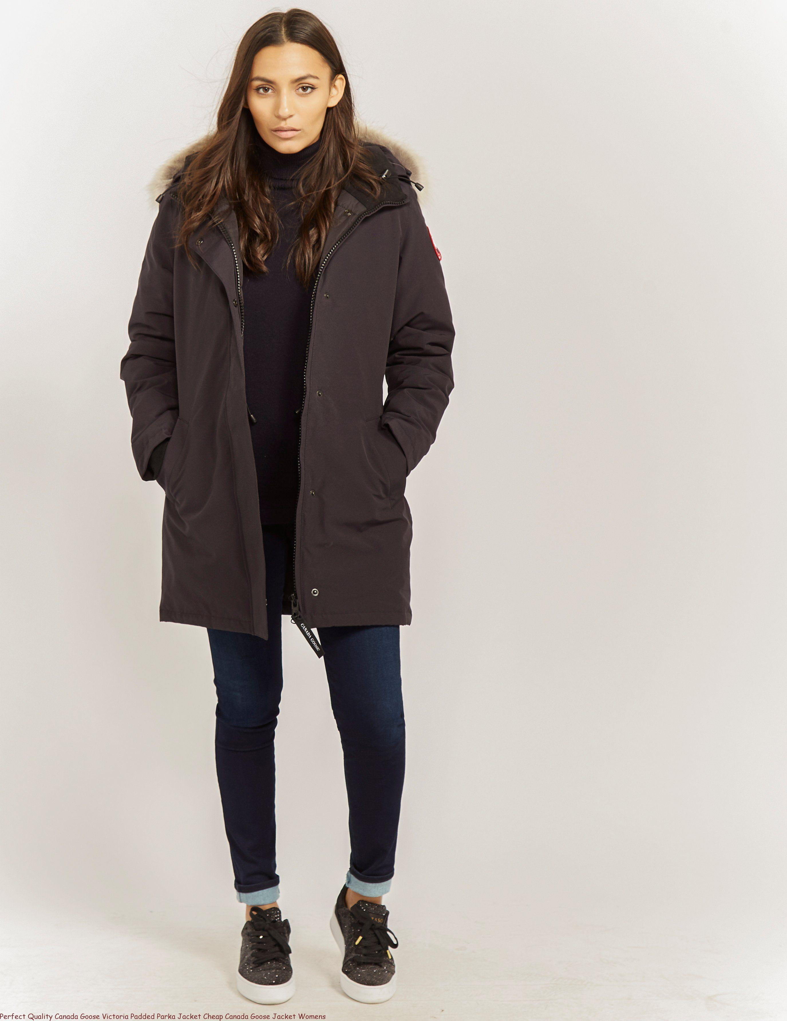 cd9e5acf214a45 Perfect Quality Canada Goose Victoria Padded Parka Jacket Cheap Canada  Goose Jacket Womens – Canada Goose Outlet Toronto Factory Jacket Sale